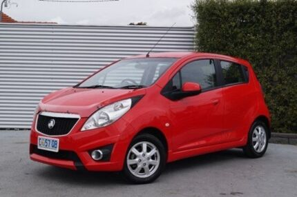 2012 Holden Barina Spark MJ MY12 CD Red 5 Speed Manual Hatchback South Launceston Launceston Area Preview