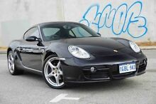 2008 Porsche Cayman 987 MY08 Black 5 Speed Sports Automatic Coupe Glendalough Stirling Area Preview
