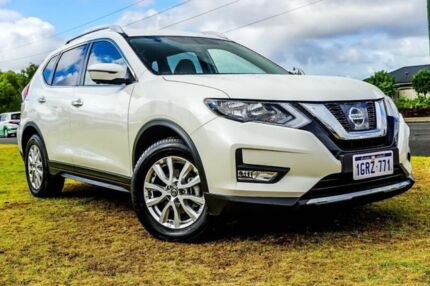 2018 Nissan X-Trail T32 Series II ST-L X-tronic 4WD White 7 Speed Constant Variable Wagon Wangara Wanneroo Area Preview