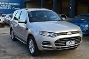 2012 Ford Territory SZ TX Limited Edition (RWD) Silver 6 Speed Automatic Wagon West Footscray Maribyrnong Area Preview