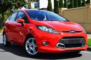 2012 Ford Fiesta WT Zetec Red 5 Speed Manual Hatchback Thorngate Prospect Area Preview
