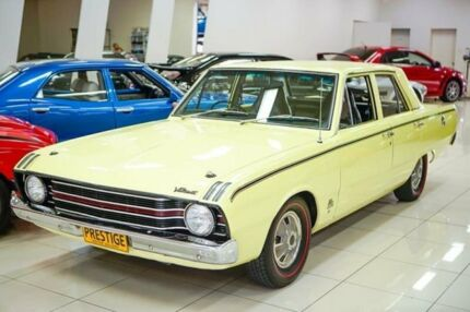 1969 Chrysler Valiant VF Pacer Isis Yellow 3 Speed Manual Sedan Carss Park Kogarah Area Preview