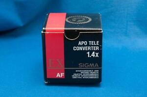 APO TELE CONVERTER 1.4X EX Af Sigma for Pentax or Sony / Minolta mounts