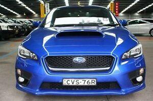 2014 Subaru WRX V1 MY15 Premium AWD WR Blue Mica 6 Speed Manual Sedan Maryville Newcastle Area Preview