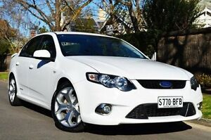 2011 Ford Falcon FG XR6 Limited Edition White 6 Speed Sports Automatic Sedan Thorngate Prospect Area Preview