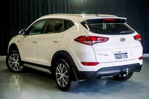 2017 Hyundai Tucson TL MY17 Active X 2WD Pure White 6 Speed Manual Wagon