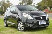 2010 Holden Barina Spark MJ MY11 CD Black 5 Speed Manual Hatchback Wangara Wanneroo Area Preview
