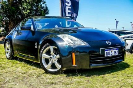 2007 Nissan 350Z Z33 MY07 Touring Black 5 Speed Sports Automatic Coupe Wangara Wanneroo Area Preview