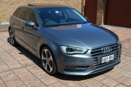 2015 Audi A3 8V MY15 Ambition Sportback S tronic Grey 7 Speed Sports Automatic Dual Clutch Hatchback Stepney Norwood Area Preview
