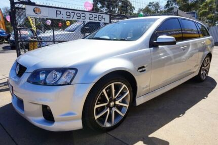 2010 Holden Commodore VE II SS V Sportwagon Nitrate 6 Speed Sports Automatic Wagon Dandenong Greater Dandenong Preview