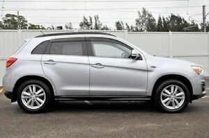 2014 Mitsubishi ASX XB MY14 Aspire Grey 6 Speed Sports Automatic Wagon Gosford Gosford Area Preview