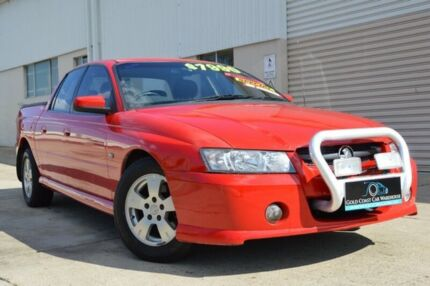 2007 Holden Crewman VZ MY06 S Red 4 Speed Automatic Utility
