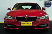 2013 BMW 320i F30 MY0813 Red/Black 8 Speed Sports Automatic Sedan Canning Vale Canning Area Preview