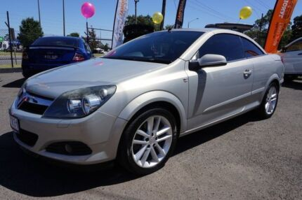 2007 Holden Astra AH MY07 Twin TOP Star Silver 6 Speed Manual Convertible