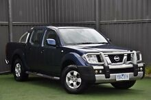 2011 Nissan Navara D40 MY11 ST Blue 5 Speed Automatic Utility Knoxfield Knox Area Preview