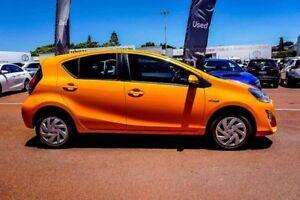2015 Toyota Prius c NHP10R E-CVT Orange 1 Speed Constant Variable Hatchback Hybrid