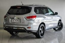 2014 Nissan Pathfinder R52 MY14 ST X-tronic 2WD Silver 1 Speed Constant Variable Wagon Southport Gold Coast City Preview
