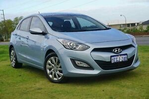 2013 Hyundai i30 GD Active Blue 6 Speed Sports Automatic Hatchback Wangara Wanneroo Area Preview