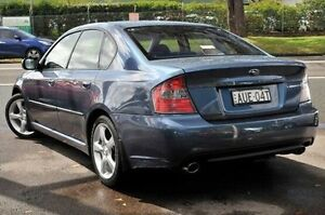 2005 Subaru Liberty AWD Blue 4 Speed Sports Automatic Sedan North Gosford Gosford Area Preview