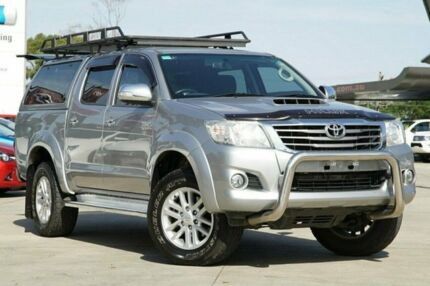 2014 Toyota Hilux Silver Automatic Utility Nunawading Whitehorse Area Preview