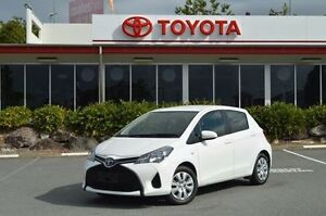 2015 Toyota Yaris White Automatic Hatchback Highland Park Gold Coast City Preview
