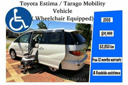 Toyota Estima/Tarago Mobility Vehicle, wheelchair equipped, welcab Kenwick Gosnells Area Preview