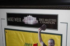 Mike Weir Framed Golf Collectibles Strathcona County Edmonton Area image 2