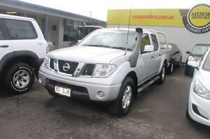 2007 Nissan Navara D40 ST-X Silver 5 Speed Automatic Utility Westcourt Cairns City Preview