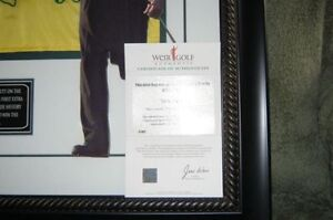 Mike Weir Framed Golf Collectibles Strathcona County Edmonton Area image 3