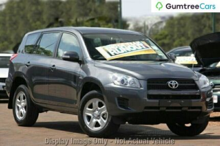 2009 Toyota RAV4 ACA33R MY09 CV Grey 4 Speed Automatic Wagon