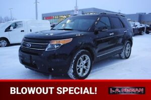 2013 Ford Explorer 4X4 LIMITED Accident Free,  Navigation (GPS),