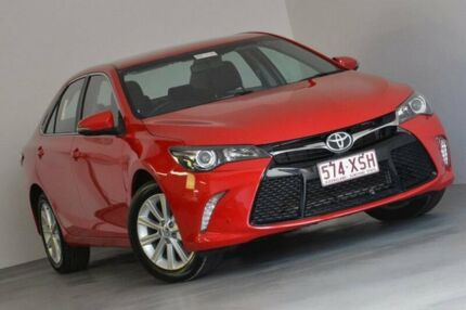 2017 Toyota Camry ASV50R Atara S Red 6 Speed Sports Automatic Sedan Taringa Brisbane South West Preview