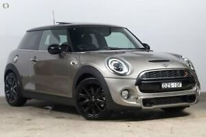 2018 Mini Hatch F56 LCI Cooper S DCT Melting Silver 7 Speed Sports Automatic Dual Clutch Hatchback Darlinghurst Inner Sydney Preview