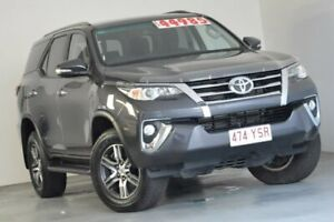 2017 Toyota Fortuner GUN156R GXL Grey 6 Speed Automatic Wagon Albion Brisbane North East Preview
