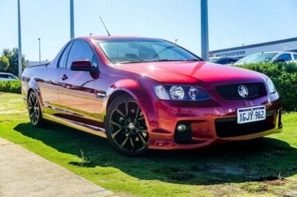2011 Holden Ute VE II SS Red 6 Speed Manual Utility Wangara Wanneroo Area Preview