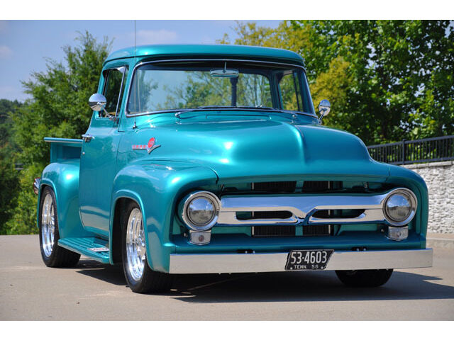 1956 ford f100 street rod pickup big back window used for 1956 ford f100 big window truck for sale