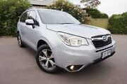 2014 Subaru Forester S4 MY14 2.5i Lineartronic AWD Luxury Silver 6 Speed Constant Variable Wagon Glenelg South Holdfast Bay Preview