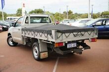 2009 Toyota Hilux TGN16R MY10 Workmate Silver 5 Speed Manual Cab Chassis Wangara Wanneroo Area Preview