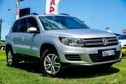2011 Volkswagen Tiguan 5N MY11 125TSI 4MOTION Silver 6 Speed Manual Wagon Osborne Park Stirling Area Preview