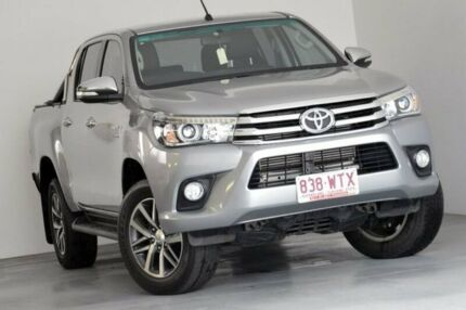 2016 Toyota Hilux GUN126R SR5 Double Cab Silver 6 Speed Sports Automatic Utility Albion Brisbane North East Preview