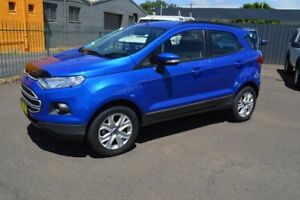 2015 Ford Ecosport BK Trend Blue 6 Speed Automatic Wagon Wellington Wellington Area Preview