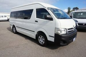 2011 Toyota Hiace KDH223R MY11 Commuter High Roof Super LWB White 4 Speed Automatic Bus Pearsall Wanneroo Area Preview