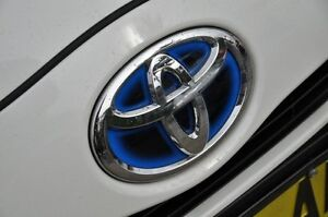 2012 Toyota Prius c NHP10R Hybrid White Continuous Variable Hatchback Mosman Mosman Area Preview