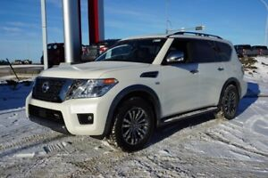 2018 Nissan Armada AWD PLATINUM PREMIUM TWO TONE LEATHER, 20 INC