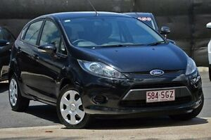 2012 Ford Fiesta WT CL PwrShift Black 6 Speed Sports Automatic Dual Clutch Hatchback Taringa Brisbane South West Preview
