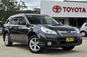 2013 Subaru Outback MY13 2.0D Grey 7 Speed Continuous Variable Wagon Watanobbi Wyong Area Preview