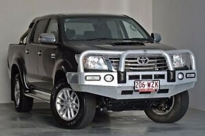 2014 Toyota Hilux KUN26R MY14 SR5 Double Cab Grey 5 Speed Automatic Utility Albion Brisbane North East Preview