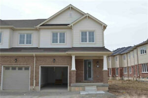 Beautiful end unit townhome for rent in West Brant avail. Mar 1