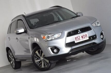 2014 Mitsubishi ASX XB MY15 LS 2WD Silver 6 Speed Constant Variable Wagon Kedron Brisbane North East Preview