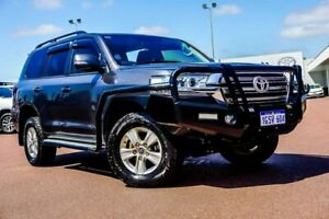 2017 Toyota Landcruiser VDJ200R GXL Graphite Grey 6 Speed Sports Automatic Wagon